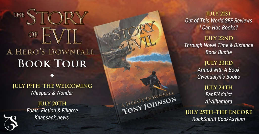 sot_tours Blog Tour: A Hero's Downfall by Tony Johnson